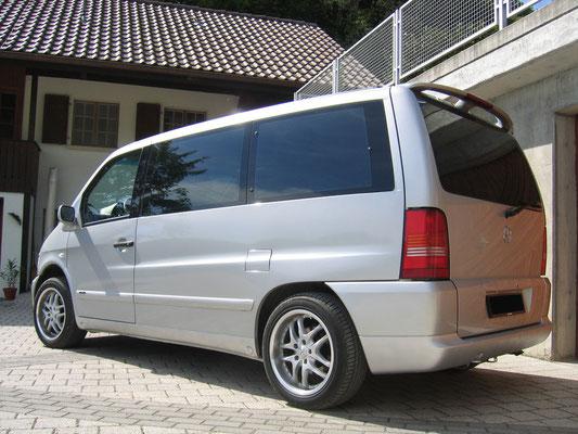 Mercedes-Benz V-Klasse 230 TD mit Alufelgen und Heckspoiler