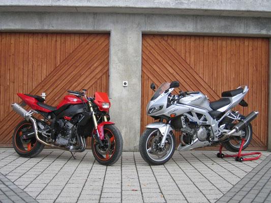 YAMAHA R1 / SUZUKI SV1000S