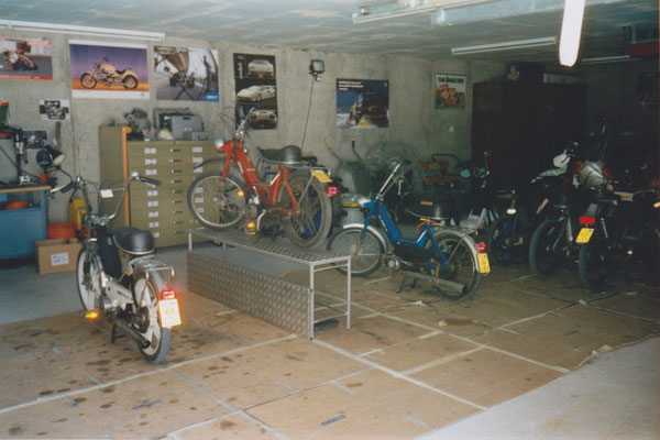 Werkstatt im Jahre 2001