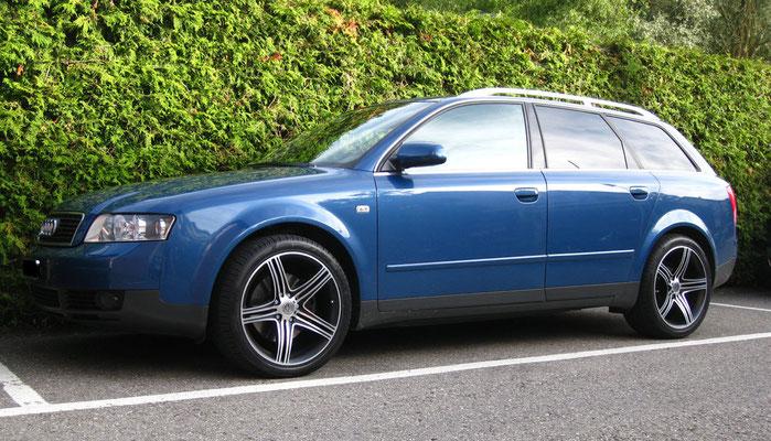 Audi A4 quattro 2.5 TDi mit Alufelgen