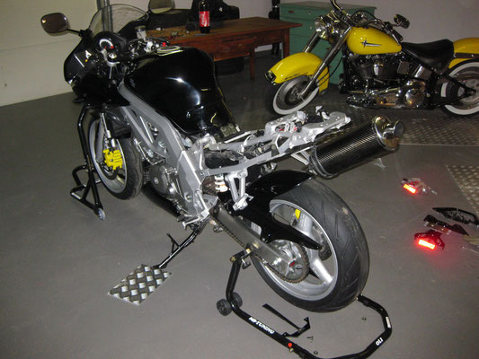 Heckumbau Suzuki SV650S