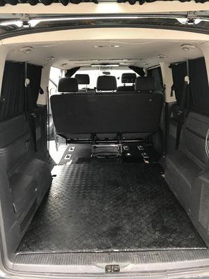 Zusatzboden für Transporte im T5