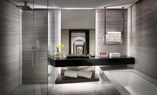 Stilistisch prefektes Badezimmer