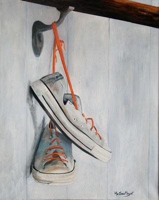 Converse - 40x50 cm  -  150€