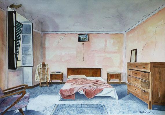 Chambre rose - 70x100 cm  -  500€