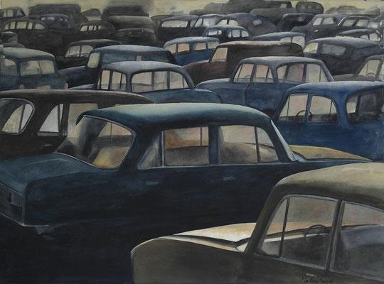 Parking - 54x81 cm  -  400€