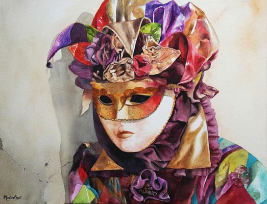 Masque de Venise - 50x70 cm  -  400€