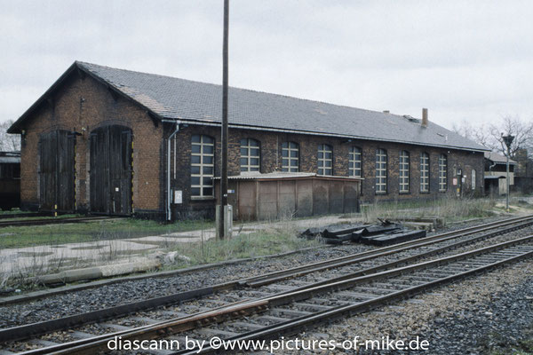 18.4.1995 Lokschuppen Arnsdorf.