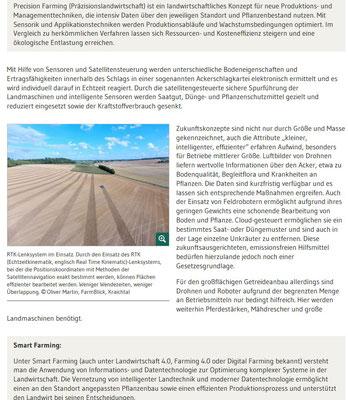 Digitaisierung in der Landwirtschaft (Redaktionsbüro Simone Giesler)
