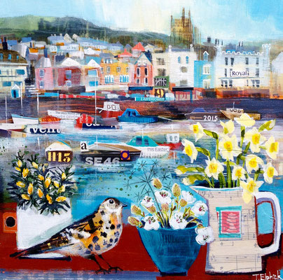Dartmouth in Spring SOLD  Print Available