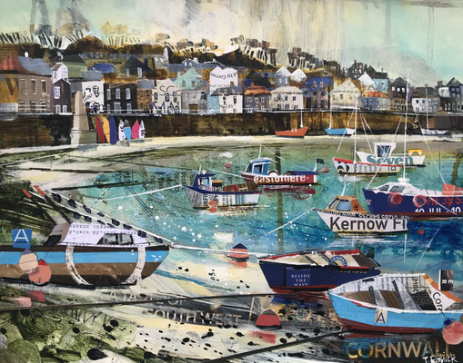 CO29 Mousehole in Autumn   original sold       print available   £65