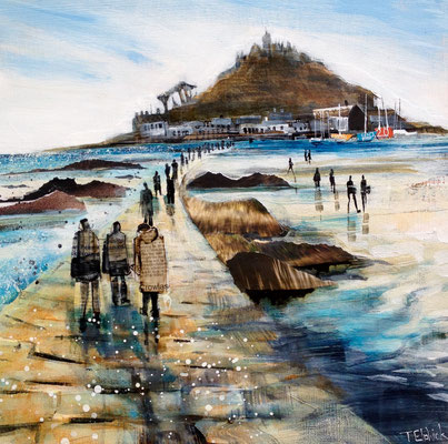 CO10 St.Michael's Mount       ORIGINAL SOLD     Print Available   £65