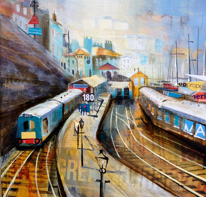 Kingsweir Station SOLD  Print Available