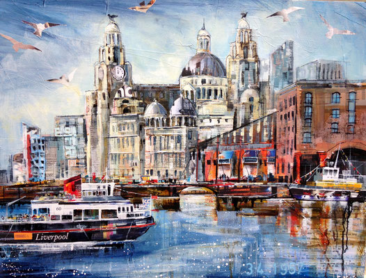The Liver Building, Liverpool Commission, Print Available