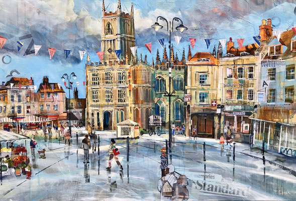 C24 Market Place View sold print available