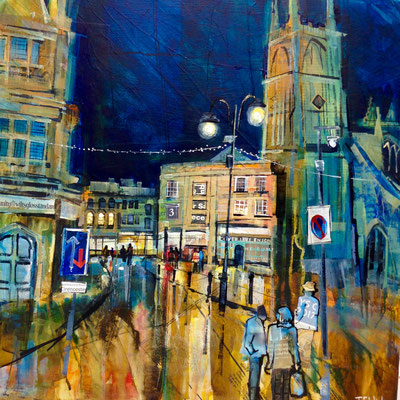 C16 Market Reflections Cirencester sold print available