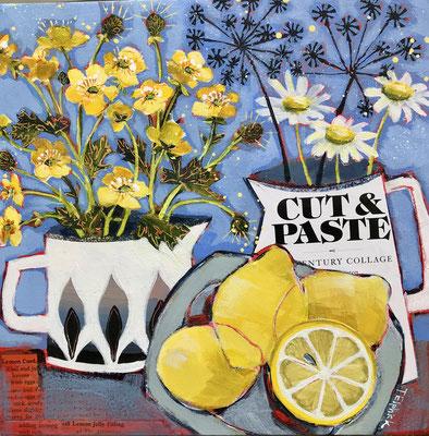 SLM34 Buttercups, Lemons & Daisies            original sold          print £65