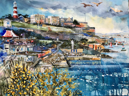 Plymouth Hoe sold print available