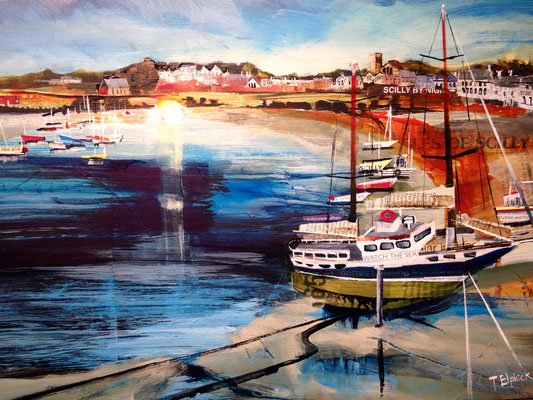 Evening Light, St. Mary's Gallery Commission print available