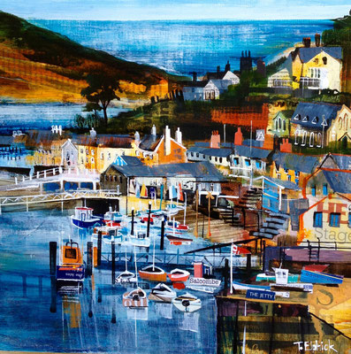 Salcombe SOLD  Print Available