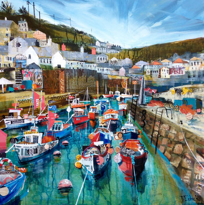CO14 Coverack, The Lizard SOLD print available