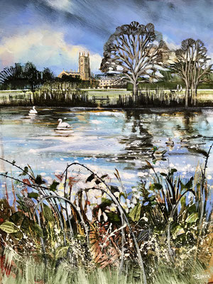 C21 Abbey Grounds sold print Available