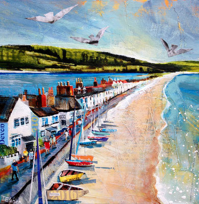 SC13 Torcross, Gallery Commission, Print Available