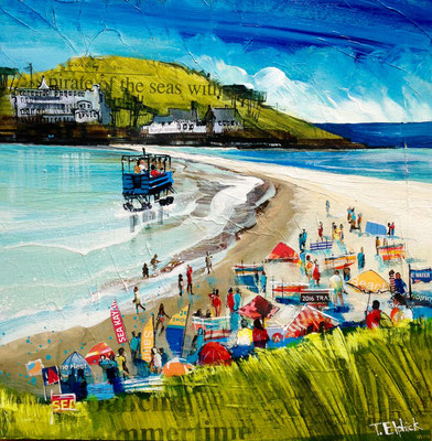 SC10 Burgh Island, Gallery Commission, Print Available