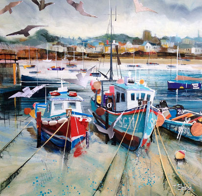 Fishing Boats, St. Mary's SOLD  Print Available