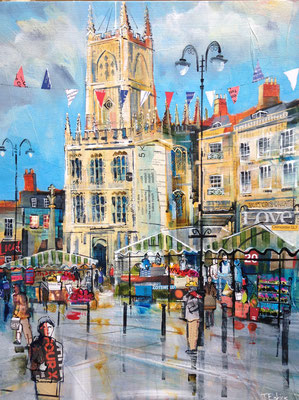 C11 October Church & Market commission print available