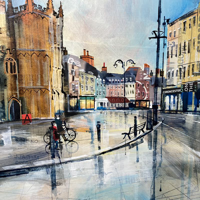C30 Cirencester Reflections SOLD  print available