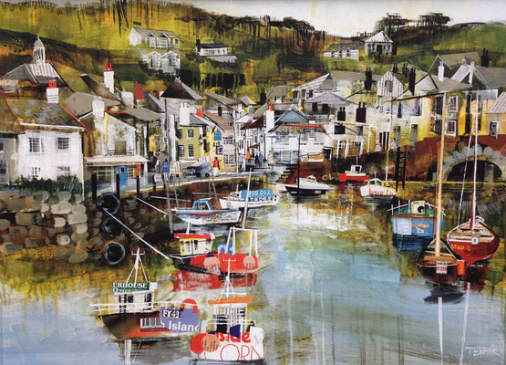 Polperro SOLD  Print Available