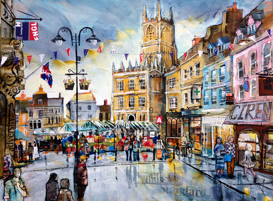 Cirencester in Autumn commission Print Available
