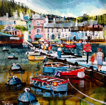 Dittisham, Gallery Commission, Print Available