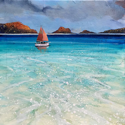 Tresco Turquoise Gallery Commission Print Available