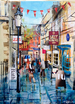 ML06 Sally Lunn's, Bath SOLD  Print Available
