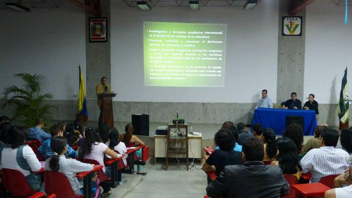 Presentación de las Becas en la UJAP.
