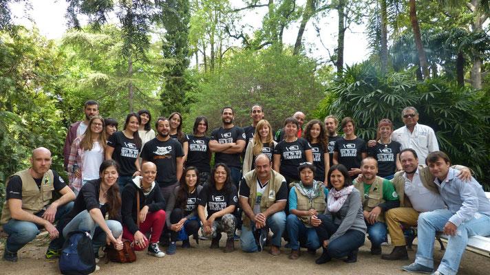 Para celebrar la edición 100 del curso de Manejo de Fauna y Bioseguridad hicimos una doble edición Barcelona-València