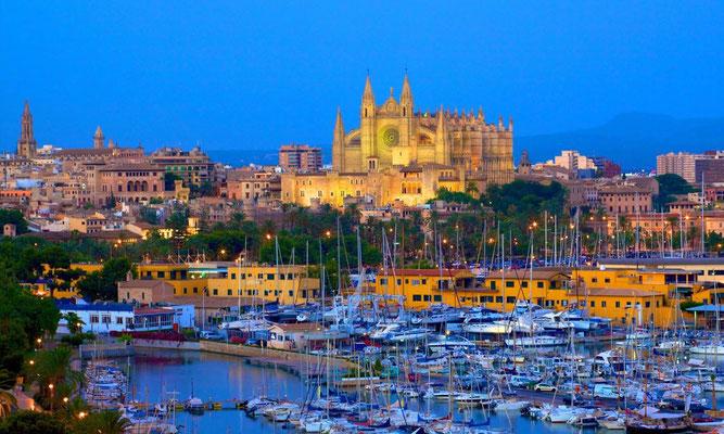 Uno de nuestros destinos, las islas de Mallorca e Ibiza.