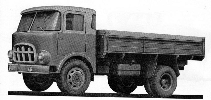 Первый прототип КАЗ-605, 1958 г.