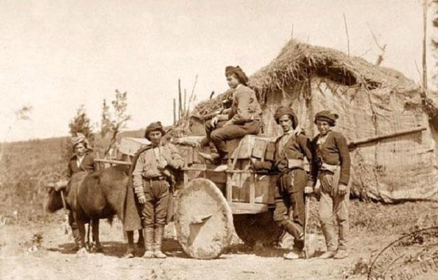 Кобулетские мужчины на Цихисдзири