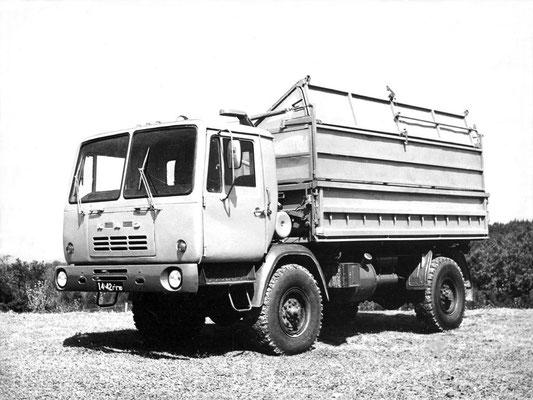 Сельскохозяйственный самосвал КАЗ-4504 — последний серийный автомобиль кутаисского завода