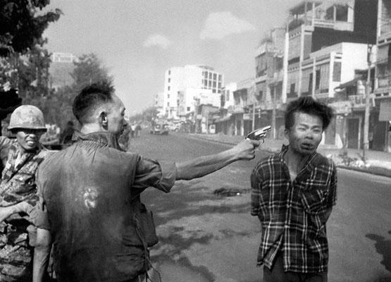 """""""Расстрел в Сайгоне"""", автор Эдди Адамс, 1968 год."""