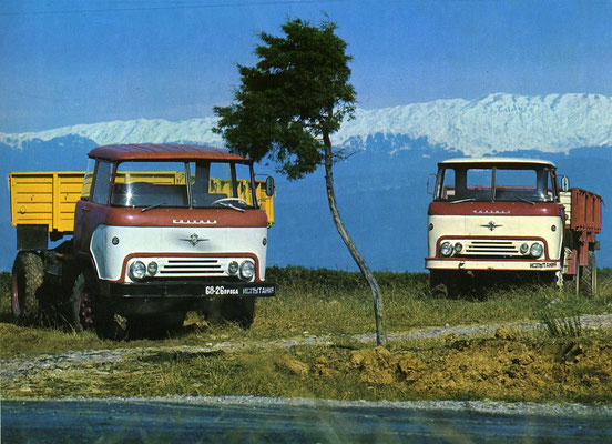 КАЗ-608 «Колхида» делали с 1967 года