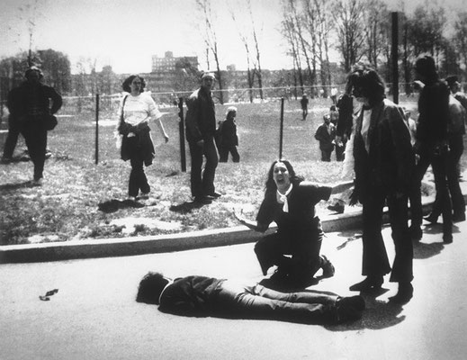 """""""Стрельба в штате Кент"""", автор Джон Пол Фило, 1970 год."""