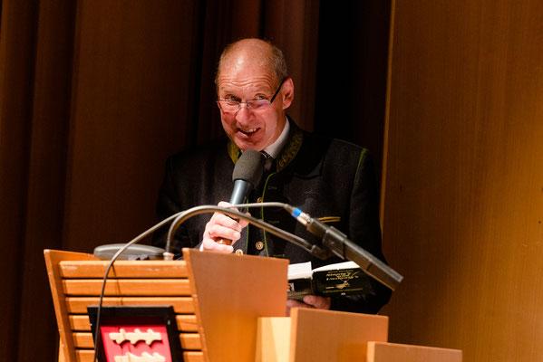 Unser diesjährigen Sprecher, Ernst Zwanzleitner,