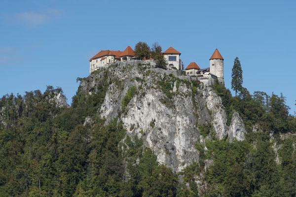 Am Nachmittag geht es hinauf zur Burg.