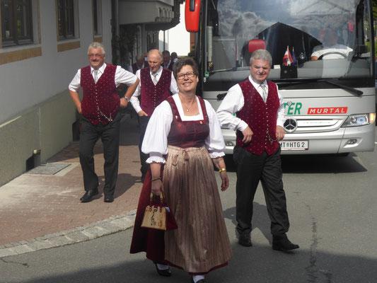 1. Tag: Ankunft in Kirchberg/Tirol.......