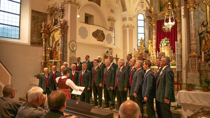 mit einem schönen Konzert in der Kirche.