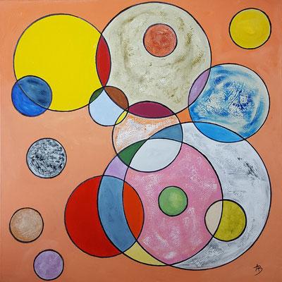 16 Cercles de vaisselle - acrylic 60x60